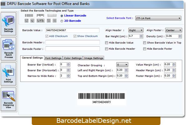 Design Postal Barcode 7.3.0.1 full