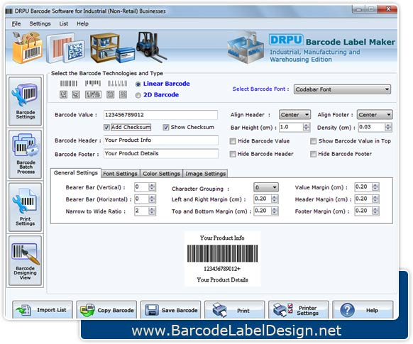 Windows 7 Warehouse Barcode Design 7.3.0.1 full